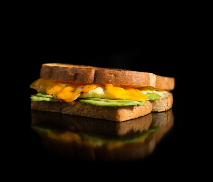 Bacon Bacon - Avocado Egg 'n' Cheese Sandwich