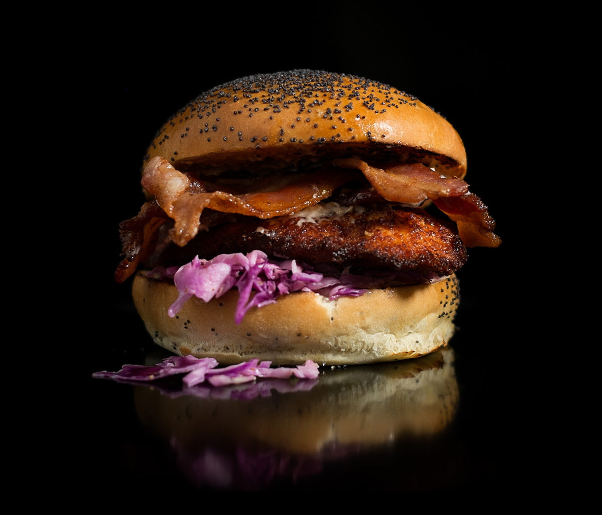 The Bacon Fried Chicken Sandwich