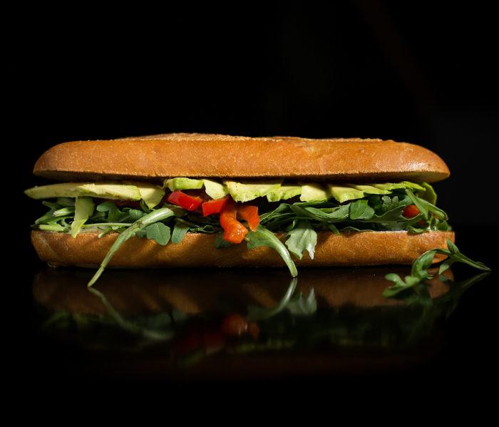 Bacon Bacon - Veggie Veggie Sandwich