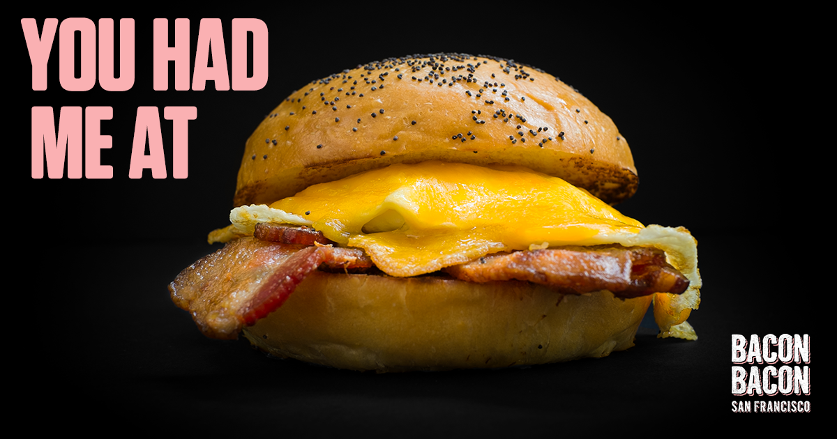 Bacon Bacon - 15 Best Breakfast Sandwiches in San Francisco