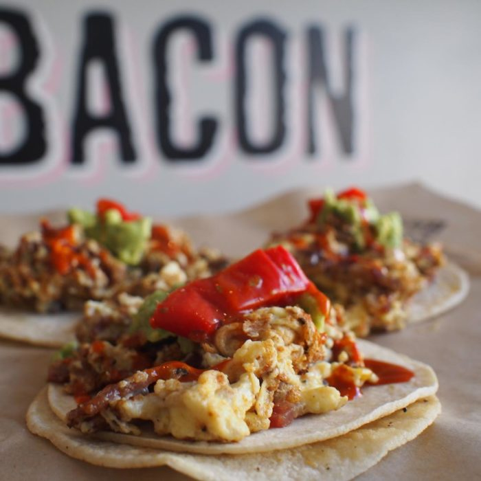 The Breakfast Taco - Bacon Bacon - San Francisco