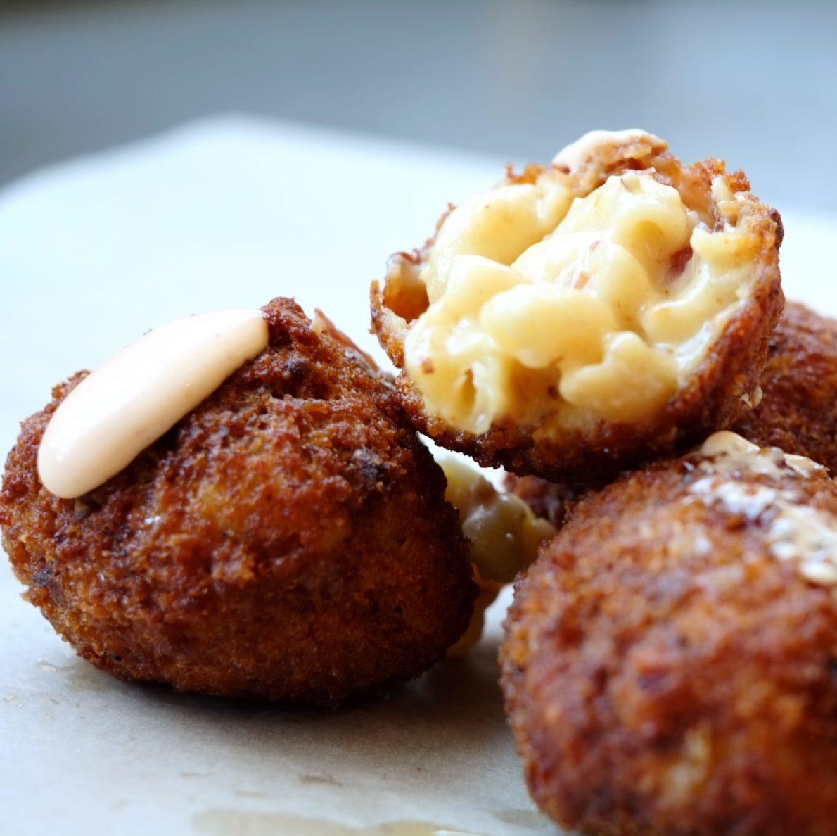 The Bacon Mac & Cheese Balls
